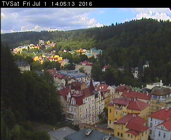 Webcam Marienbad - Europe, Czech Republic, Mariánské Láznì