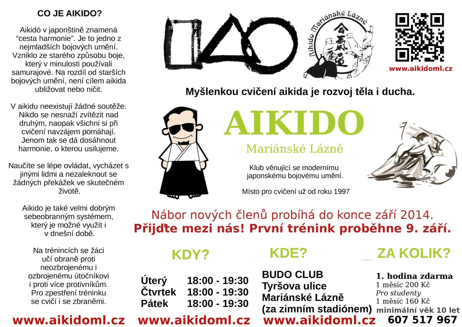 Aikido Pro Všechny Začíná 9. Září 2014