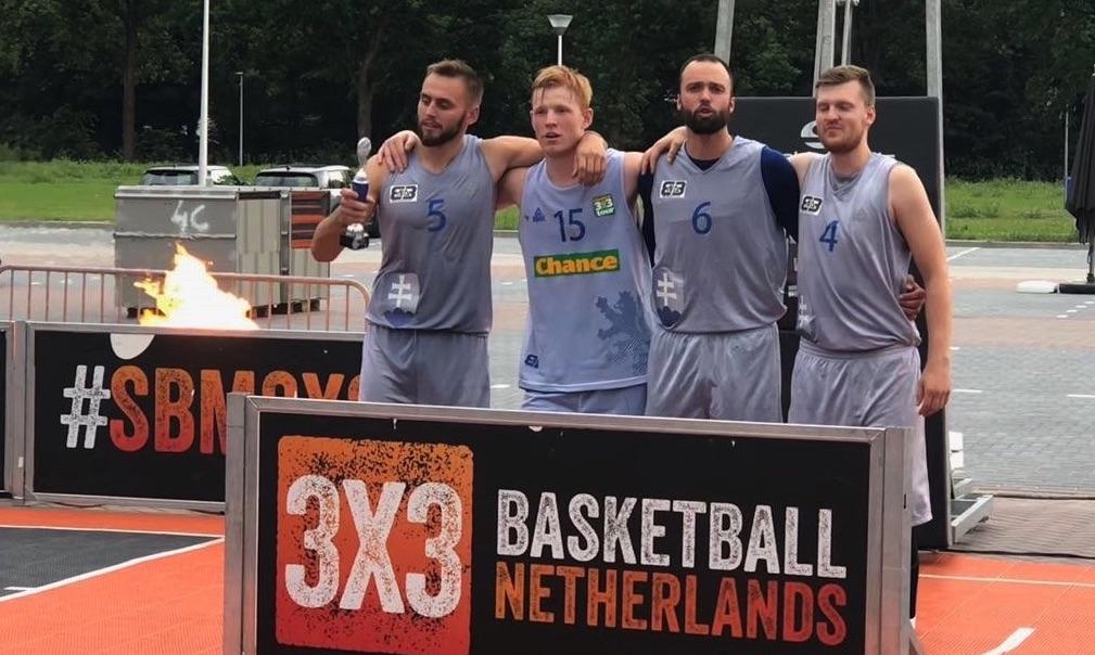 Basketbal 3 x 3: Mariánské Lázně zvítězily na mezinárodním turnaji v Nizozemsku